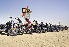 Route 66 to Los Angeles guided motorcycle tour - Nevada