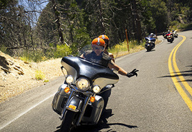 Route 66 to Los Angeles guided motorcycle tour - California