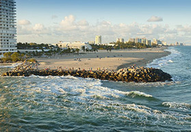 Miami South Florida self drive motorcycle tours, Miami