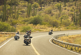 Baja California guided motorcycle tour