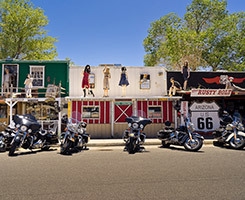 Las Vegas National Park self drive motorcycle tour - Kingman