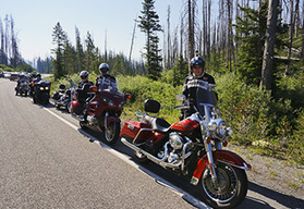 Canadian Rockies and Yellowstone Park Guided Motorcycle Tour, Fairmont Springs