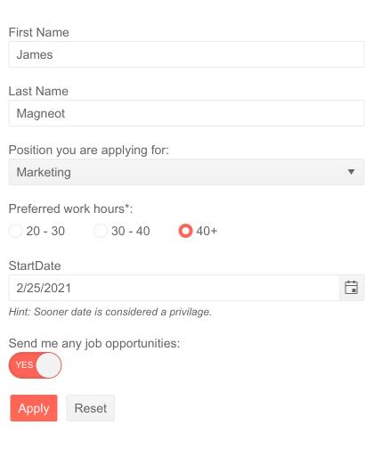 """Interface utilisateur Telerik pour les éditeurs et modèles personnalisés Blazor Form """"title ="""" Interface utilisateur Telerik pour les éditeurs et modèles personnalisés Blazor Form """"/> <br data-recalc-dims="""