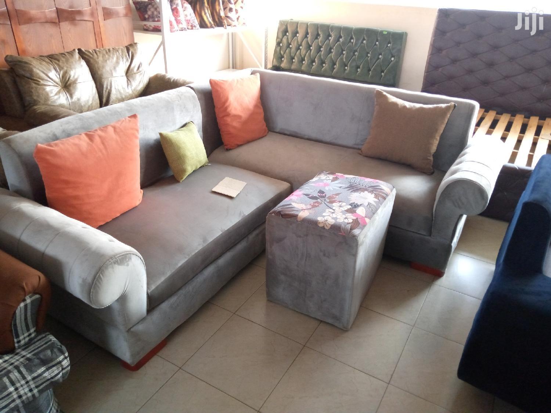 P Arm Rest Min L Sofa In Grey With Otto Center Table In Kampala Furniture Alendander Alex Jiji Ug For Sale In Kampala Buy Furniture From Alendander Alex On Jiji Ug