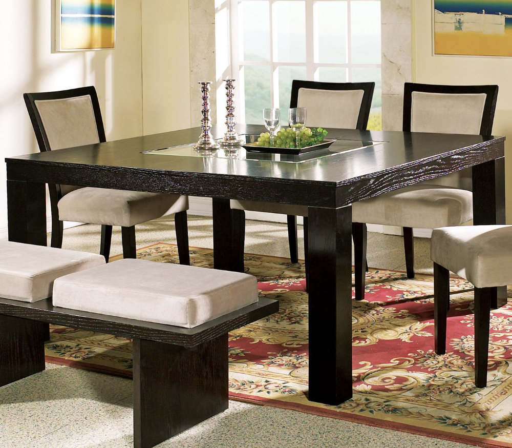 Dining Room Discount Furniture: Versatility & Retro Styled Dining Table Dining Table