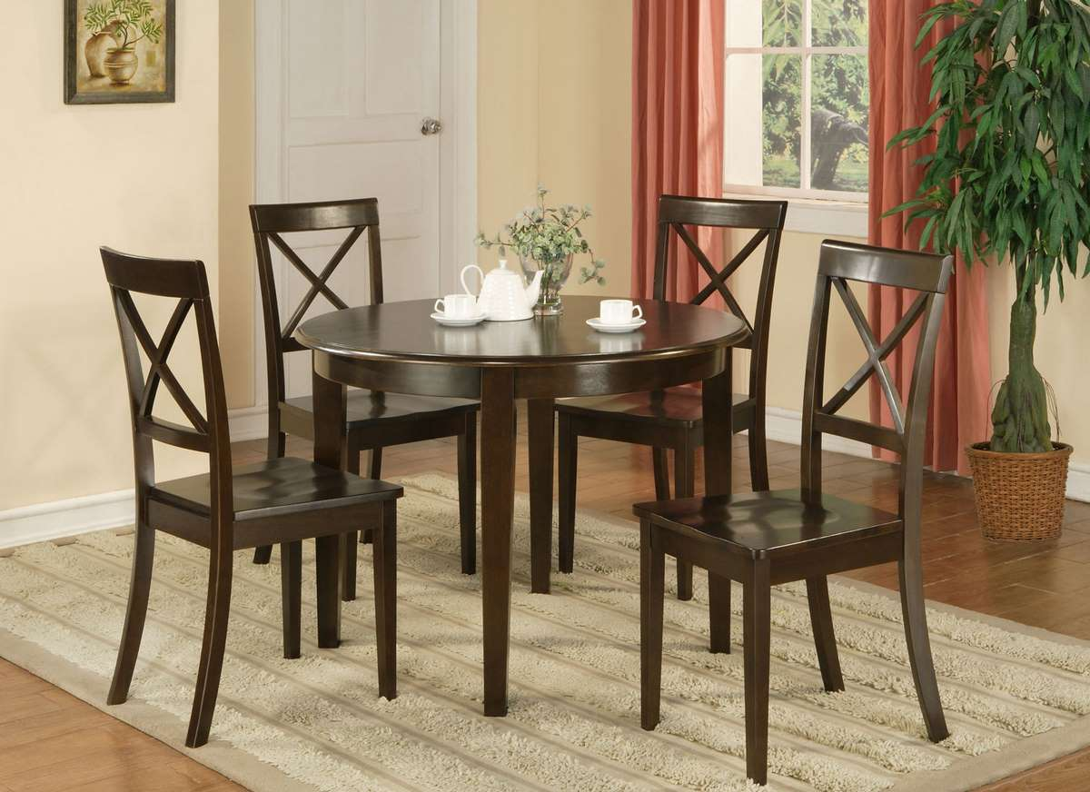 Inexpensive kitchen table sets home decor interior for Kitchen table with 4 chairs