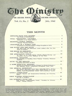 Program For Church Dedication Ministry Magazine