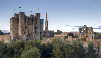 6. Trim Castle in county Meath