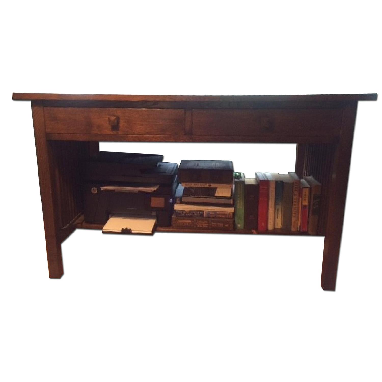 Vintage Mission Style Desk Chair Aptdeco