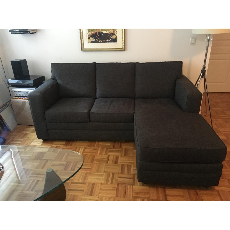 costco beeson fabric queen sleeper sectional sofa