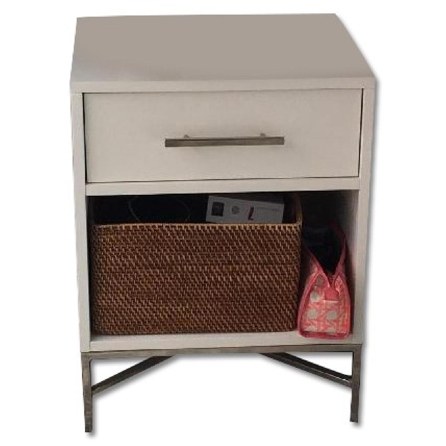 West Elm City Storage Nightstand AptDeco