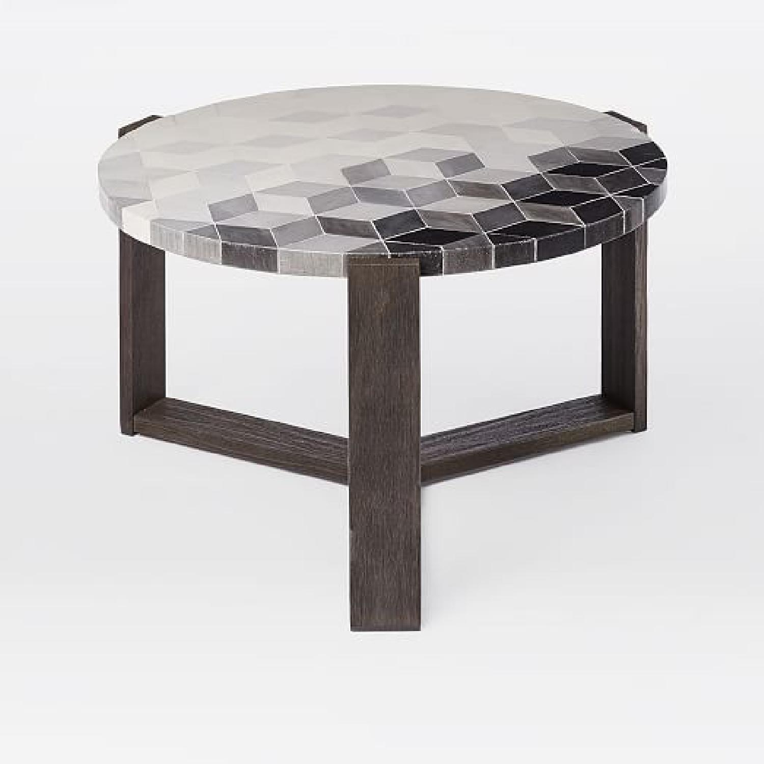 west elm mosaic tiled outdoor coffee table