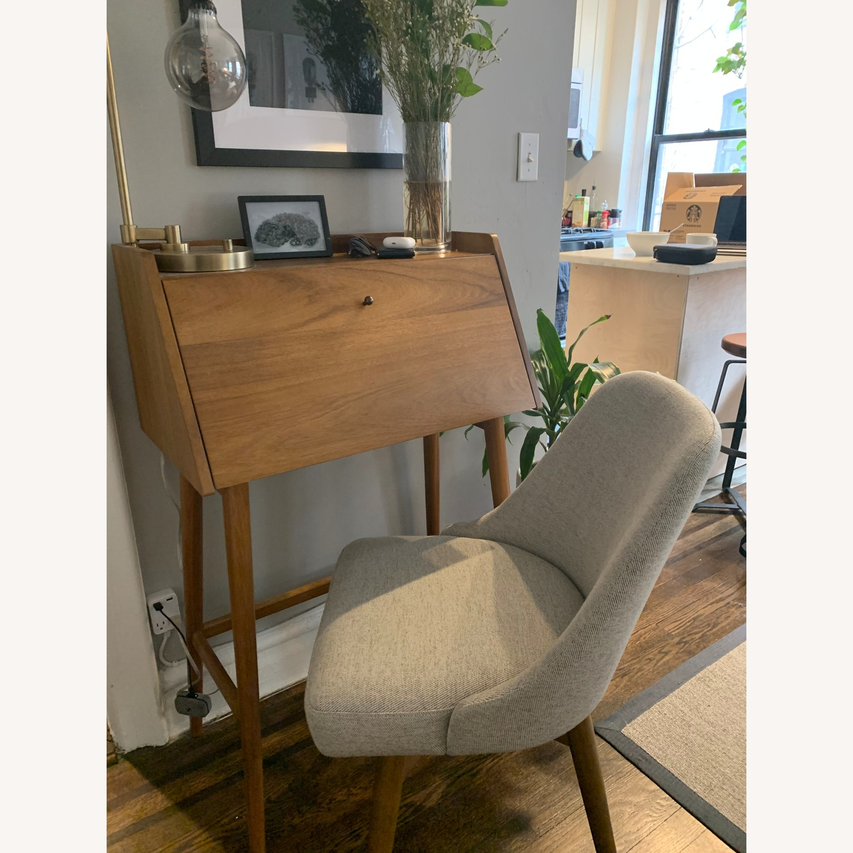West Elm Mid Century Mini Secretary Desk Aptdeco