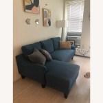 Ashley Furniture Blue Sectional Sofa Sleeper Aptdeco