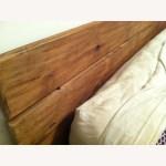 Abc Carpet Home King Teak Platform Bed Aptdeco