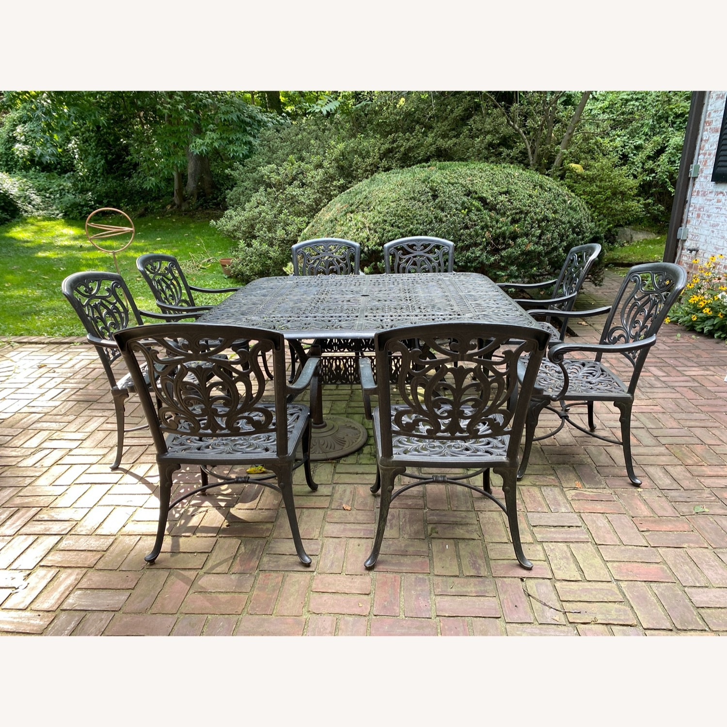 fortunoff outdoor dining set with 8 chairs