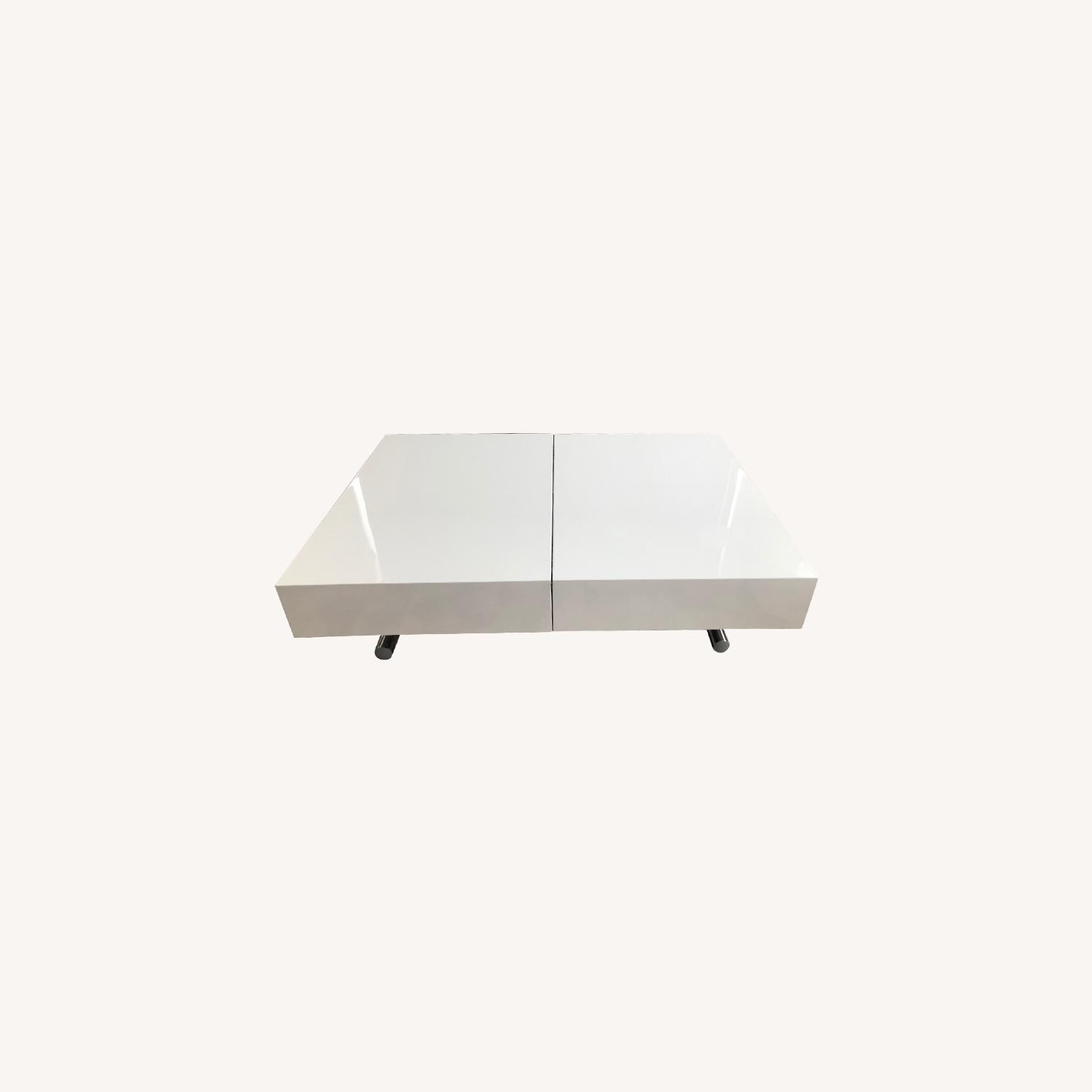 expand furniture box coffee table to dining table