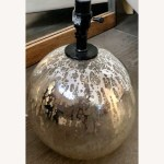 Target Threshold Globe Mercury Glass Table Lamp Base Aptdeco