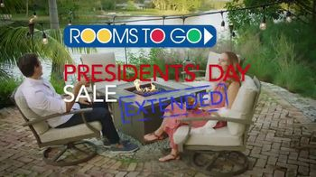 rooms to go outdoor presidents day sale tv commercial extended outdoor furniture