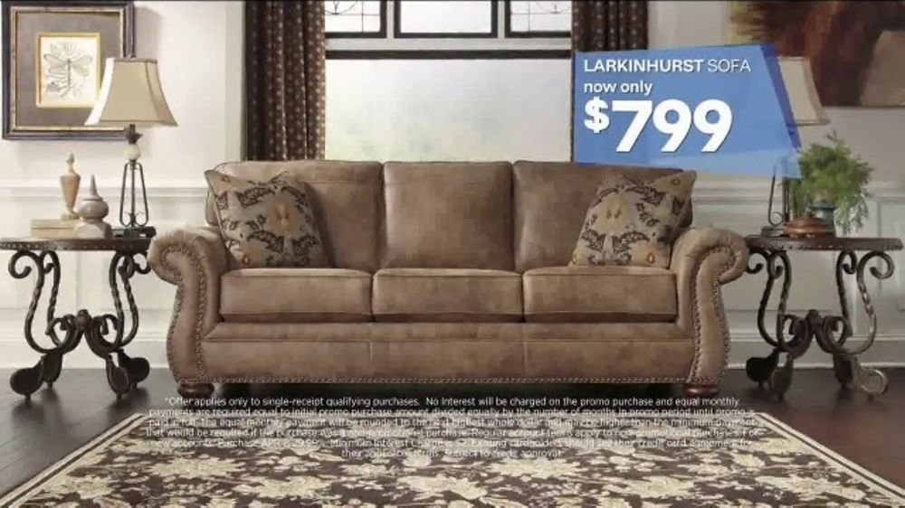 Ashley HomeStore Labor Day Event TV Commercial Beat The
