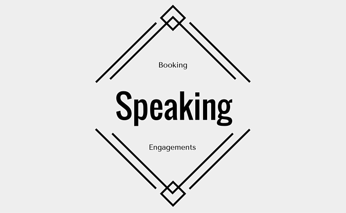 Chazz Ellis is currently booking speaking engagements