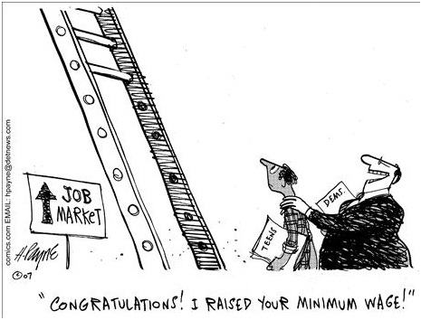 Job ladder, finding work becomes more difficult.
