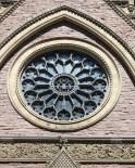 Glass windows at St. Pats