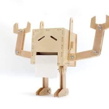 DIY Robot Tissue Box The Apollo Box