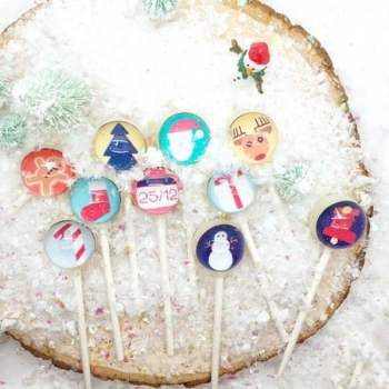 product image for Christmas Lollipops (a set of 10)
