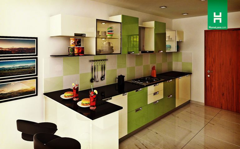 Buy Robin Lustrous Parallel Kitchen With Breakfast