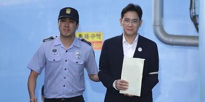 L'héritier du sud-coréen Samsung obtient sa libération en appel — Corruption