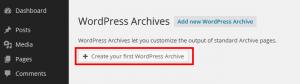Views tutorials – WordPress Archive – Create