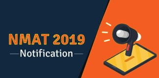NMAT 2019 Notification Exam Dates Exam Pattern Here is all you need to know