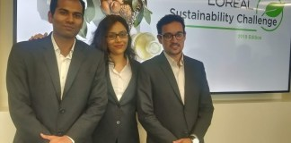 National Finalists of LOréal Sustainability Challenge 2019 Ruling with a logical mind set