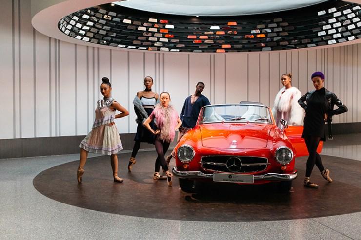 Hiplet Ballerinas promotional work for Mercedes Benz