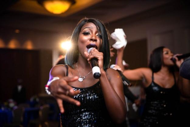 I Love This Band singer at the HomeTown Gala in Atlanta