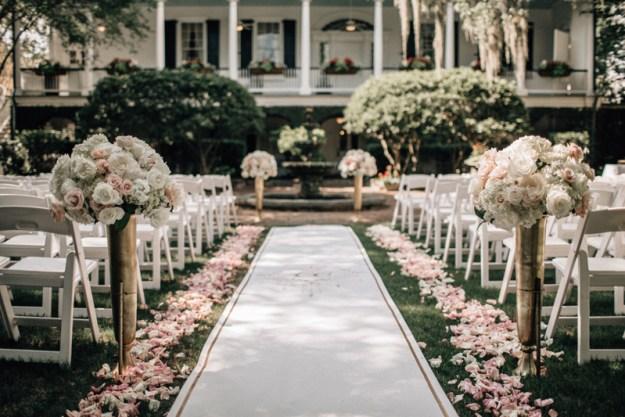Governor Thomas Bennett House wedding ceremony