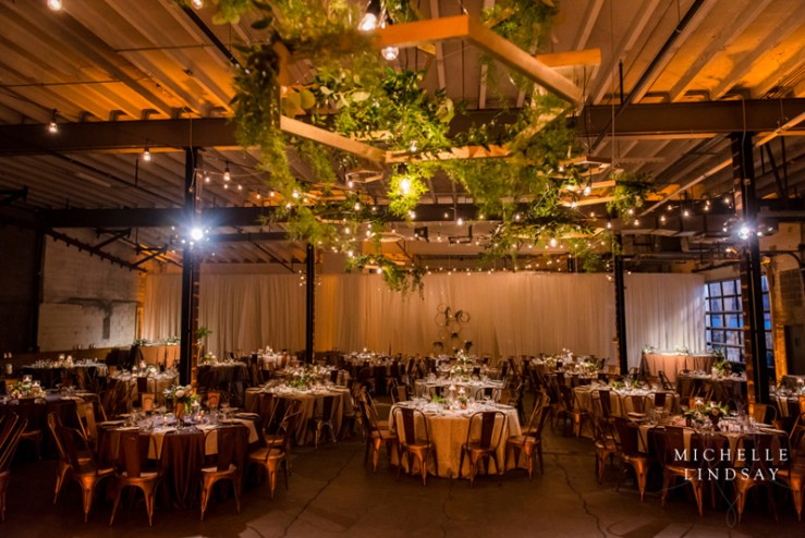 Wedding reception at Union Market Dock 5