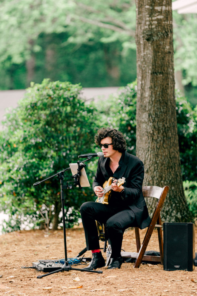 Solo guitarist Raleigh wedding