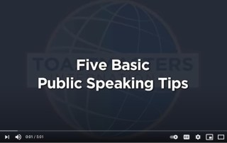 5 basic public speaking tips