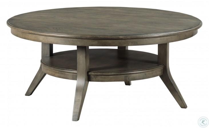 cascade lamont grey round coffee table