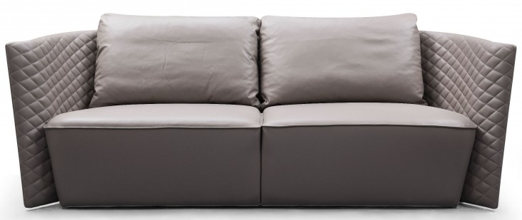 Lauren Leather Sofa From Bellini Modern Living Coleman Furniture