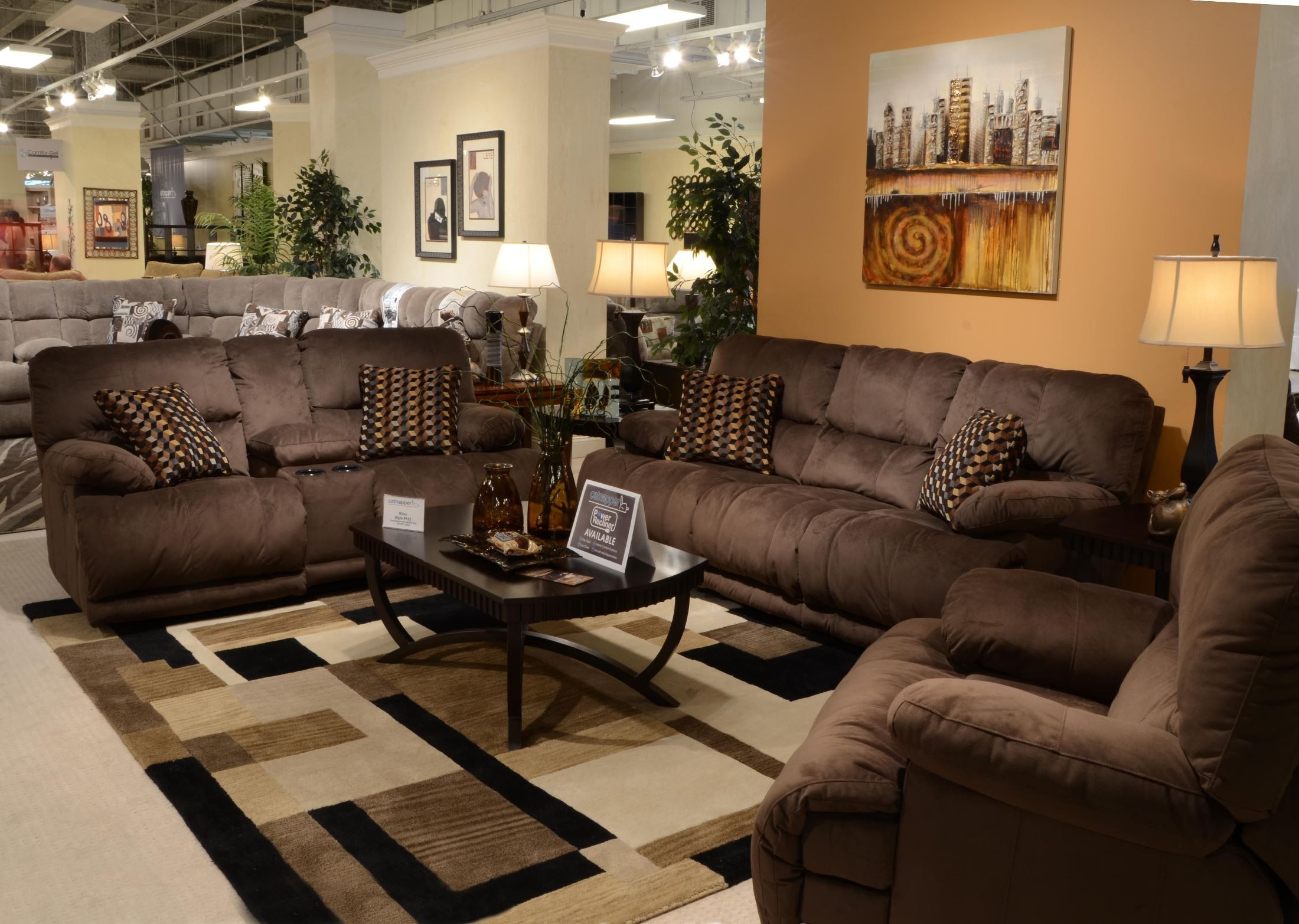 Reclining Living Room Sets