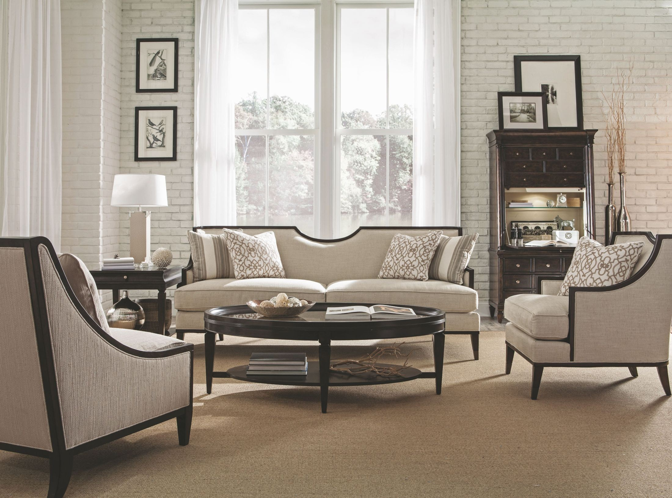 Harper Ivory Living Room Set From ART