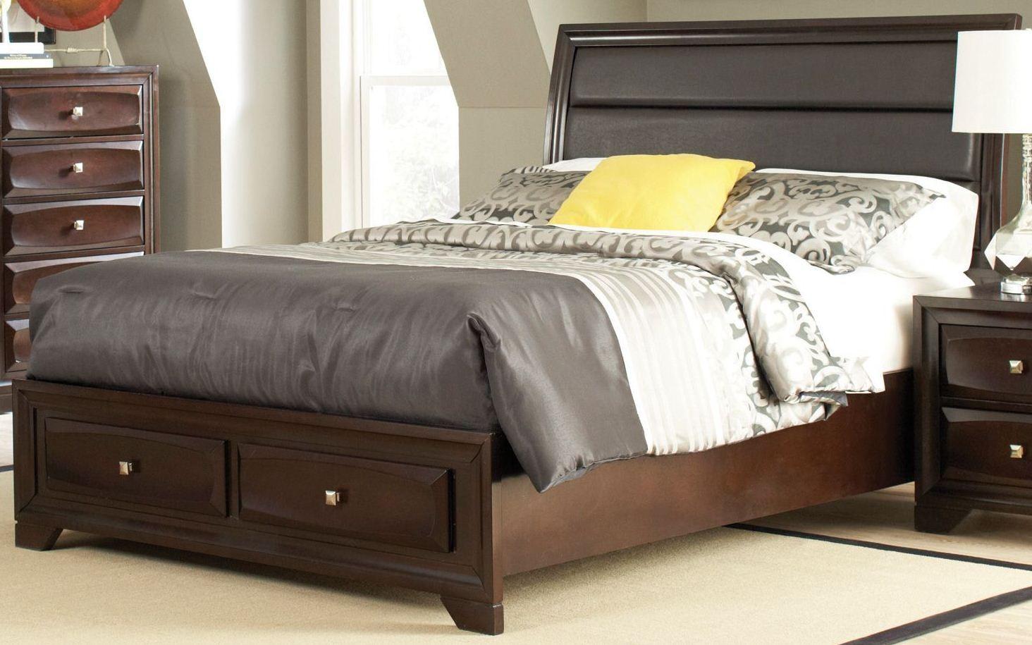 Jaxson Cal King Storage Platform Bed From Coaster