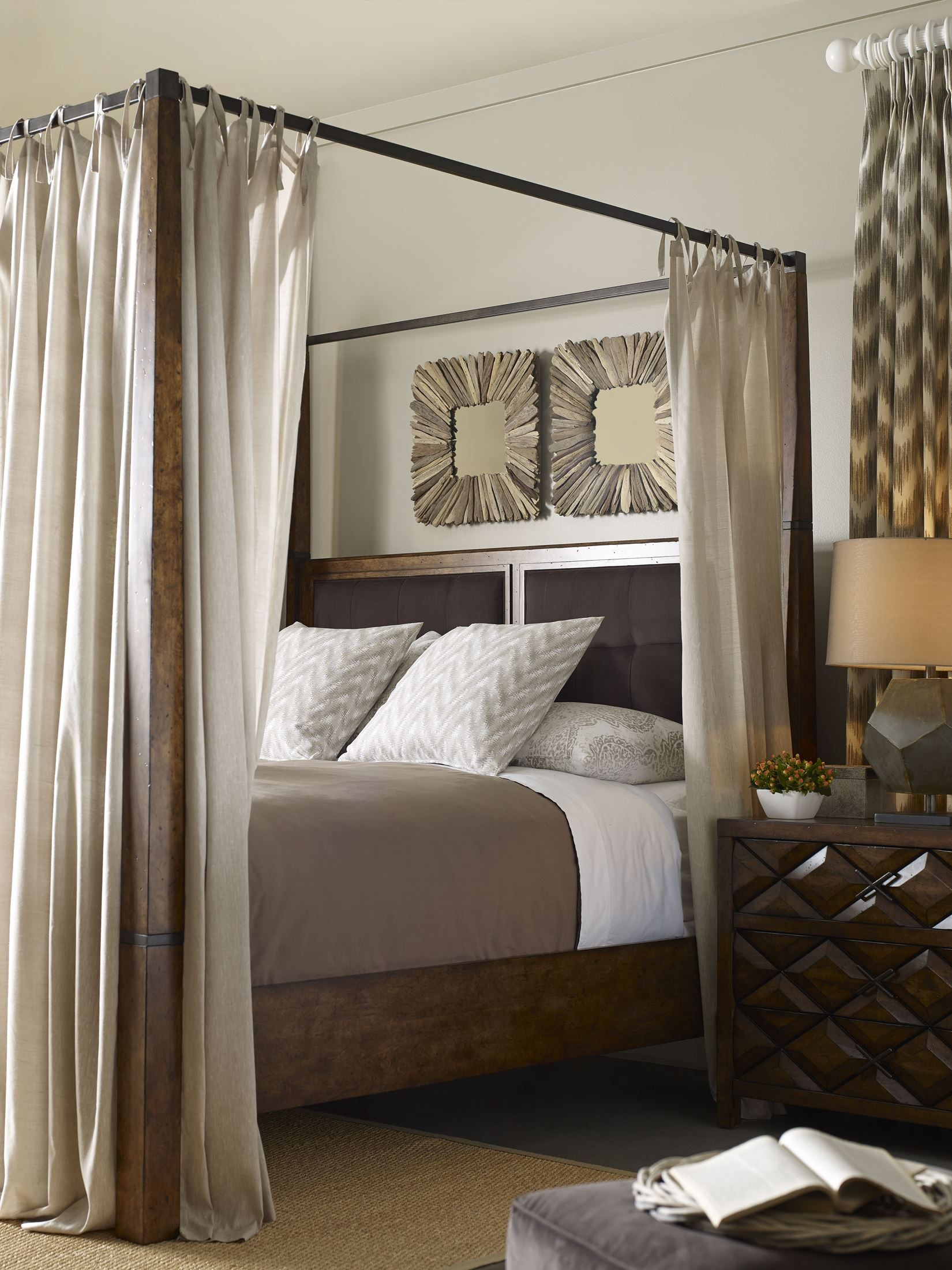 Echo Park Huston S Arroyo Cal King Poster Canopy Bed From