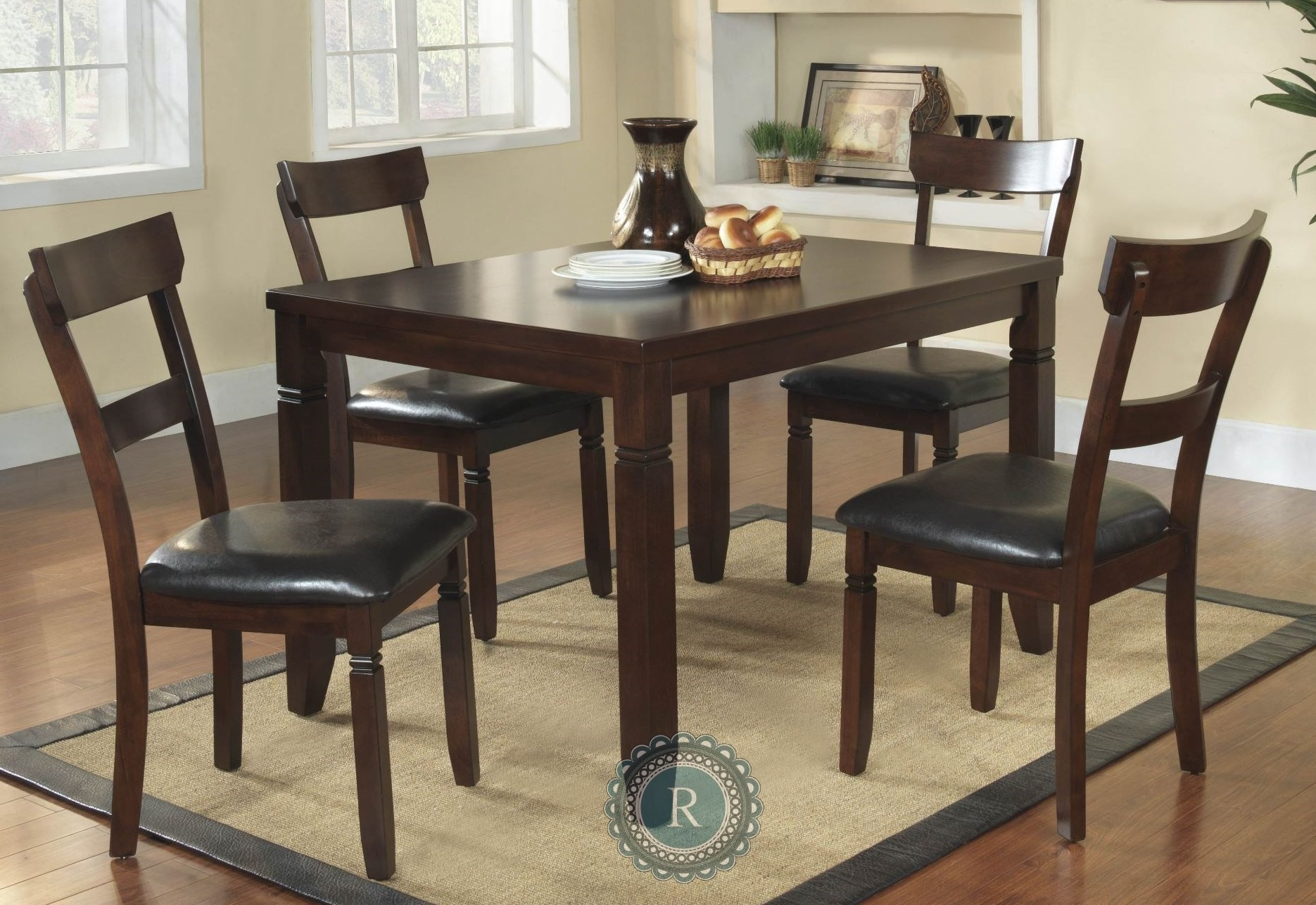 Oklahoma 5-Piece Pack Dinette Set From Homelegance (2469