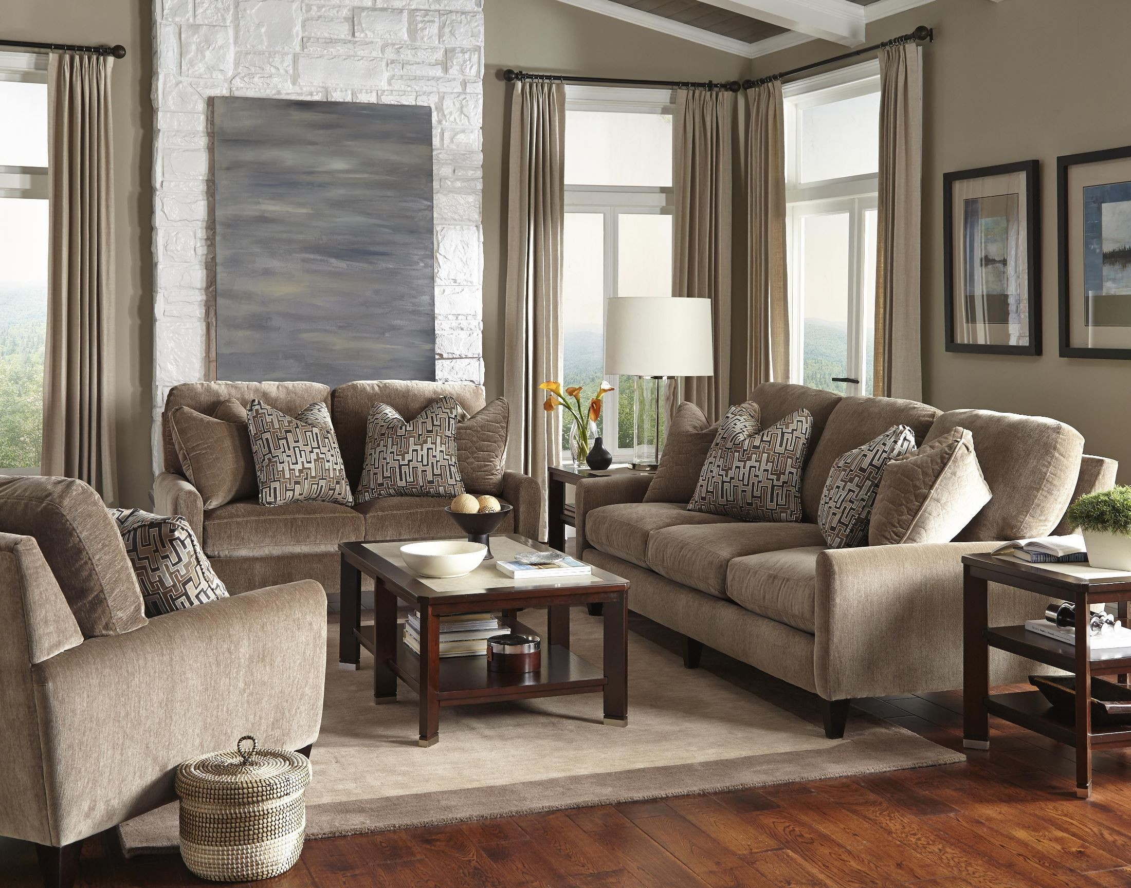 Mulholland Taupe Living Room Set From Jackson