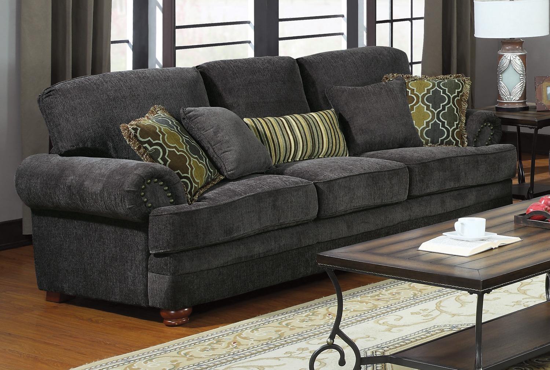 Grey Sofa And Chair