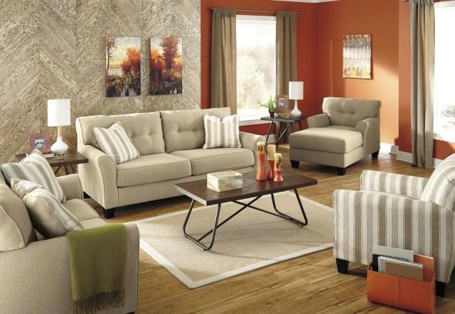Laryn Khaki Living Room Set from Ashley (5190238 ...